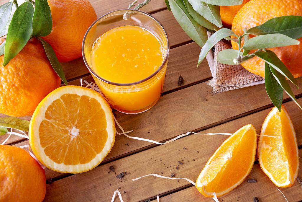pomerancovy dzus z pomerance