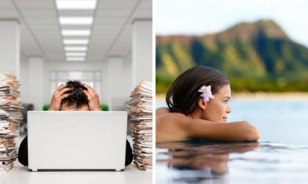 7 tipů jak si vzít v klidu delší dovolenou a nemít stres v práci