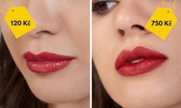 Tato dívka vyzkoušela drahý vs. levný makeup a takhle to dopadlo