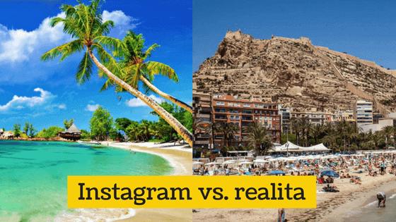 Fotky z dovolené, jak je dáváme na sociální sítě vs. realita