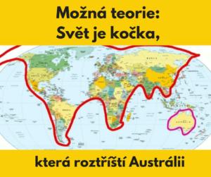 šokující mapy