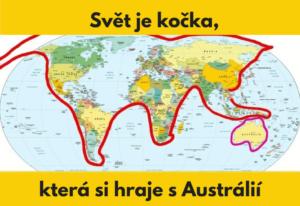 šokujících map