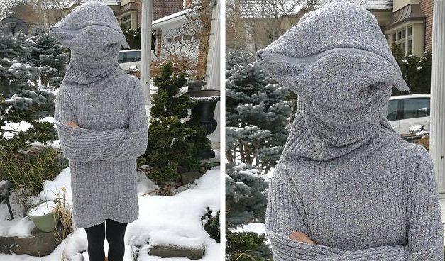 """Tenhle svetr s názvem """"Nechte mě na pokoji"""" od mladé návrhářky je hitem internetu"""