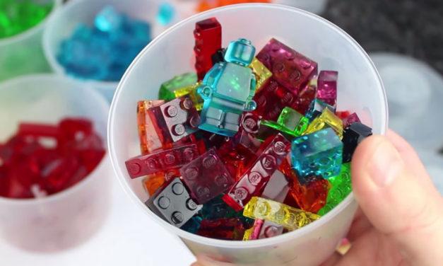 Jak si vyrobit barevné LEGO bonbóny