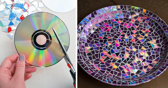 15 úžasných nápadů, jak zužitkovat stará CDčka