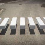 Na Islandu mají 3D přechody pro chodce, aby zpomalili auta