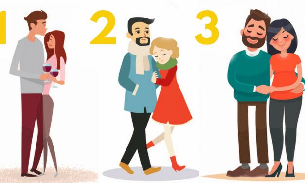 Vyberte si nejšťastnější pár a my vám prozradíme něco o vašem vztahu